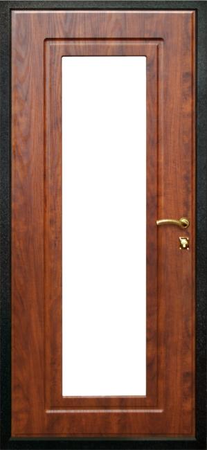 зеркальная накладка на входные двери