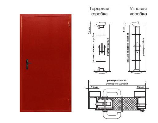 дверь металлическая однопольная толщина металла