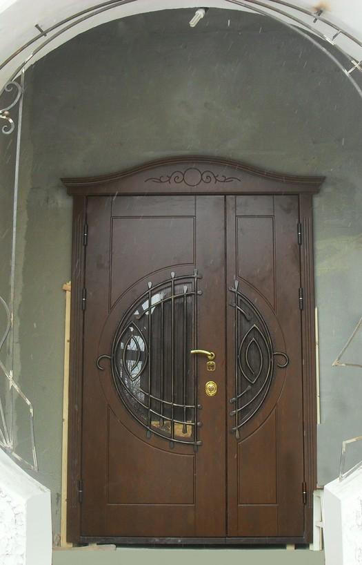 дверь металлическая двупольная нестандартная прайсы